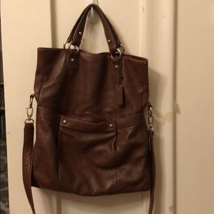 Liz Claiborne brown leather purse